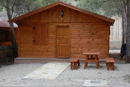 Room type: Entire home/apt Property type: Cabin Accommodates: 4 Bedrooms: 2 Bathrooms: 1