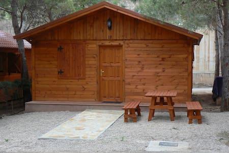 bungalow de madera  - Albarracín