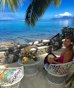 Faré MIRO bord de mer PunaauiaTAHITI - Puna'auia - House