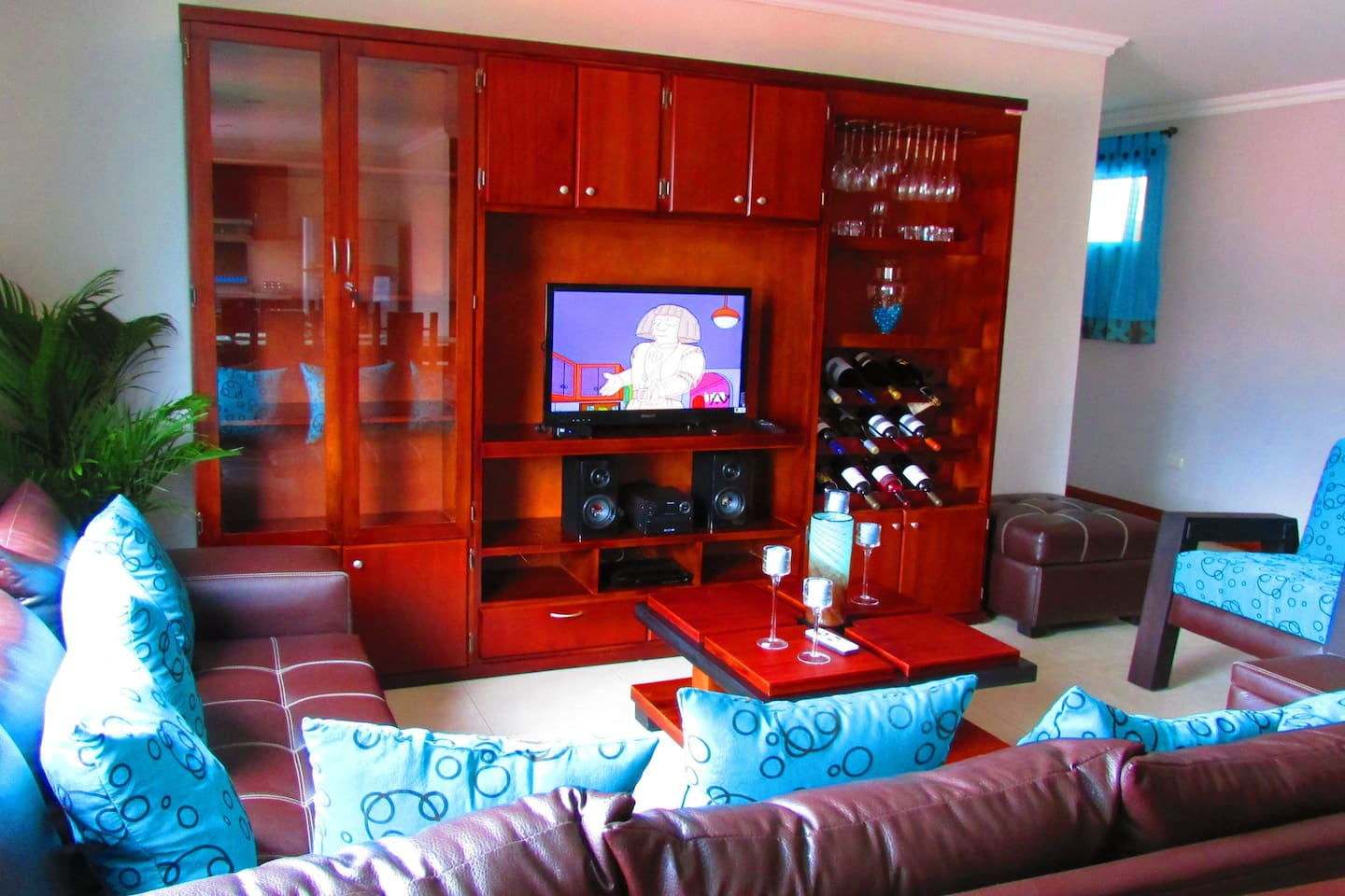 Fully equipped living room