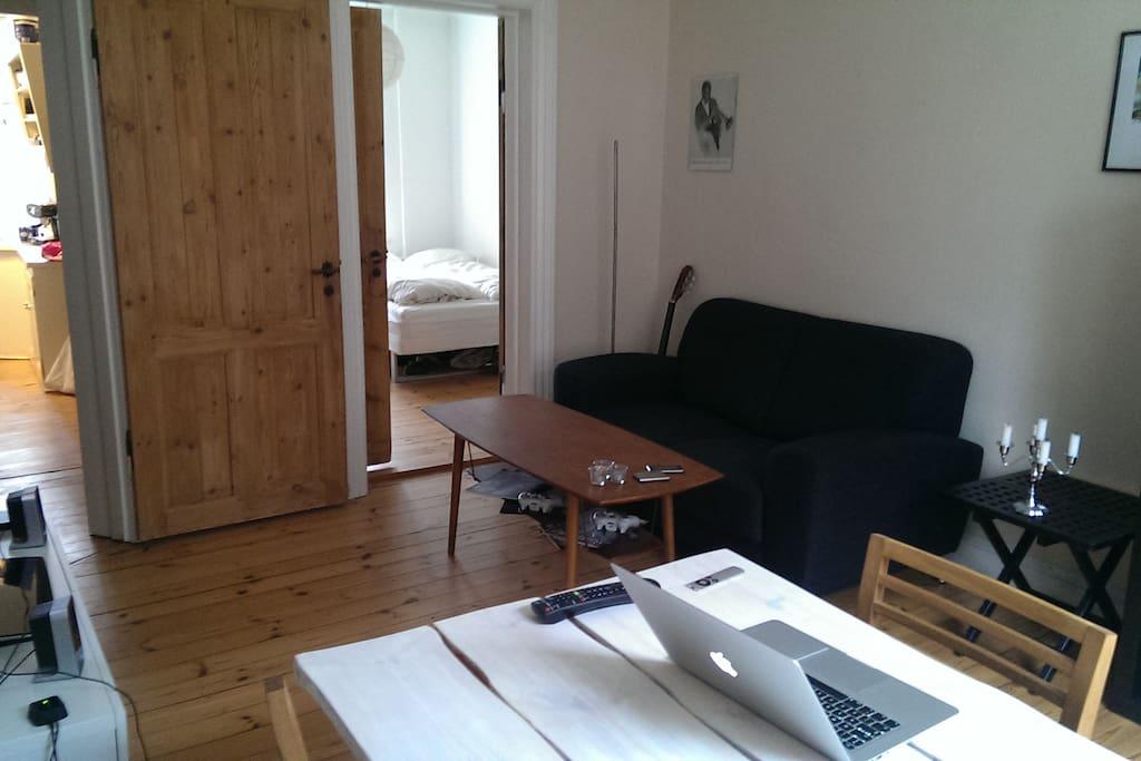 Hyggelig 2'er ved frb have   apartments for rent in frederiksberg