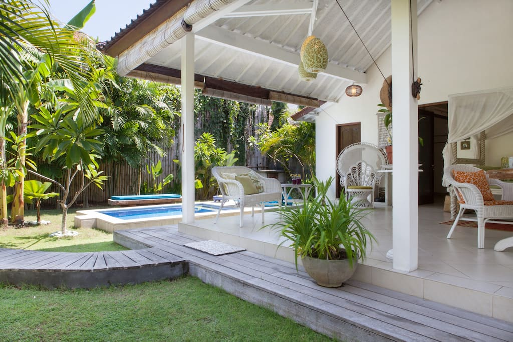 Typical Balinese villa
