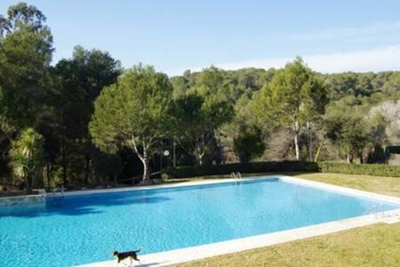 Ático vist mar y piscina Sol PinsII - Palafrugell