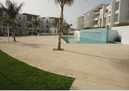 Duplex avec piscine à Casablanca (ville verte) - Wohnung