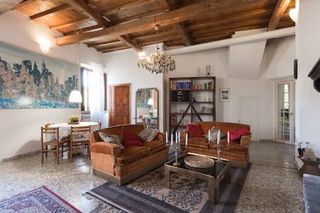 ANTICA ALCOVA charme apartament of XV century - Apartment