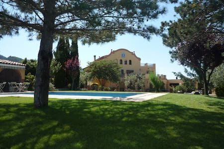 Villa swimming-pool . Priorat-Salou - Villa