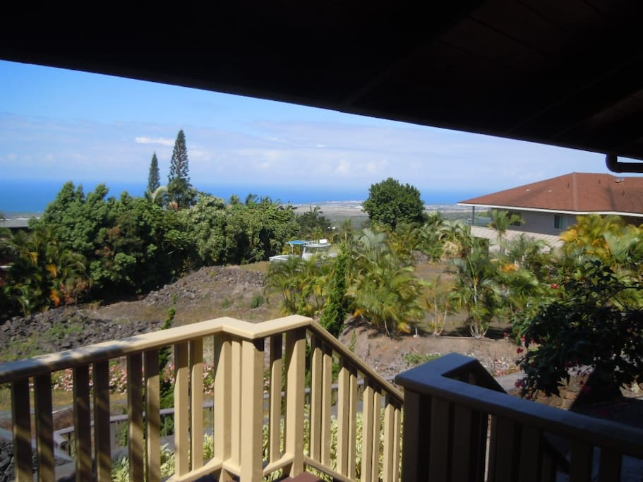 Looking north from lanai
