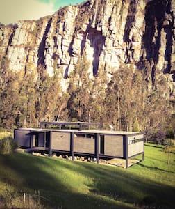 Casa SATORI en las rocas de Suesca - Hus