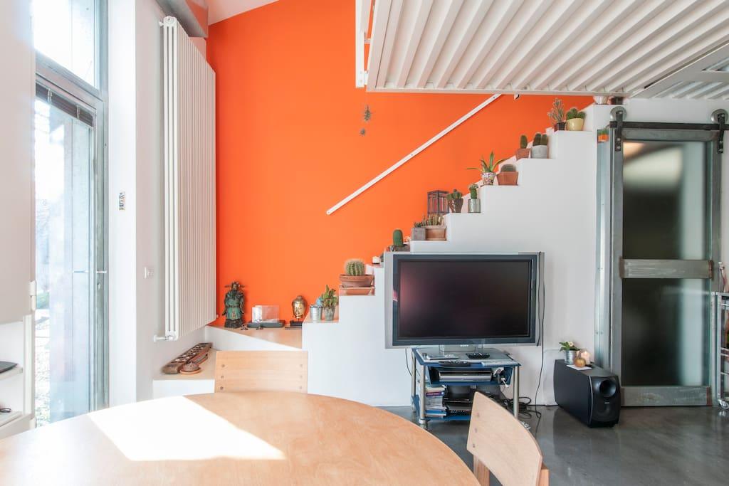 Loft metro diretta per il centro loft in affitto a milano for Centro soluzioni airbnb