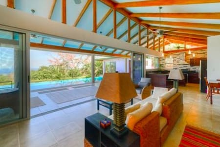 Tranquility and Comfort in Beautiful Nosara Area - Nosara - Haus