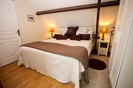 Look couples only 3* barn apartment - Houesville - Byt