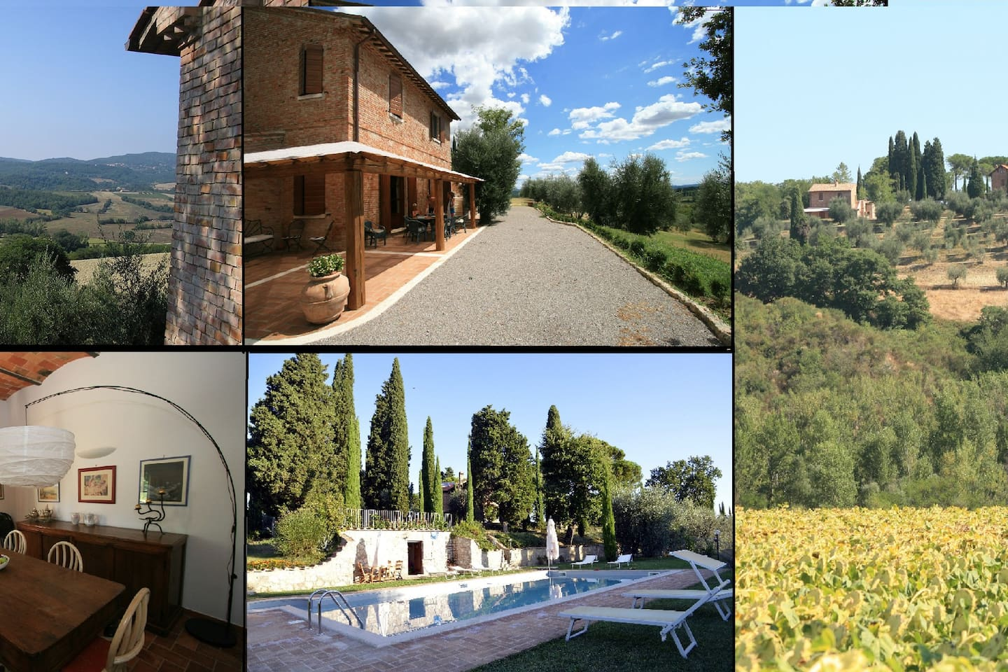 Villa Cottage with swimming SIENA