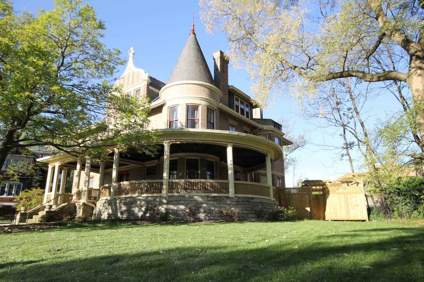 1896 Queen Anne with wrap around porch.