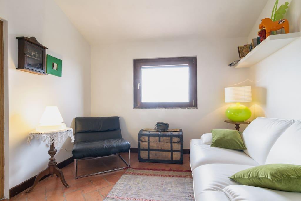 Attic Room apartment Val'Orcia view
