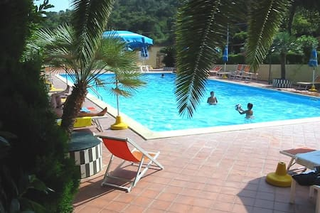 Appartment with pool close to beach - Apartamento