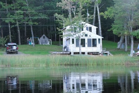 Magical Moments By The Lake - Lincolnville - Huis