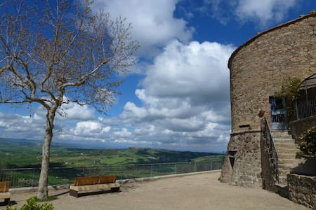 Romantic Tower's dating 1200 - Monticchiello - Apartment