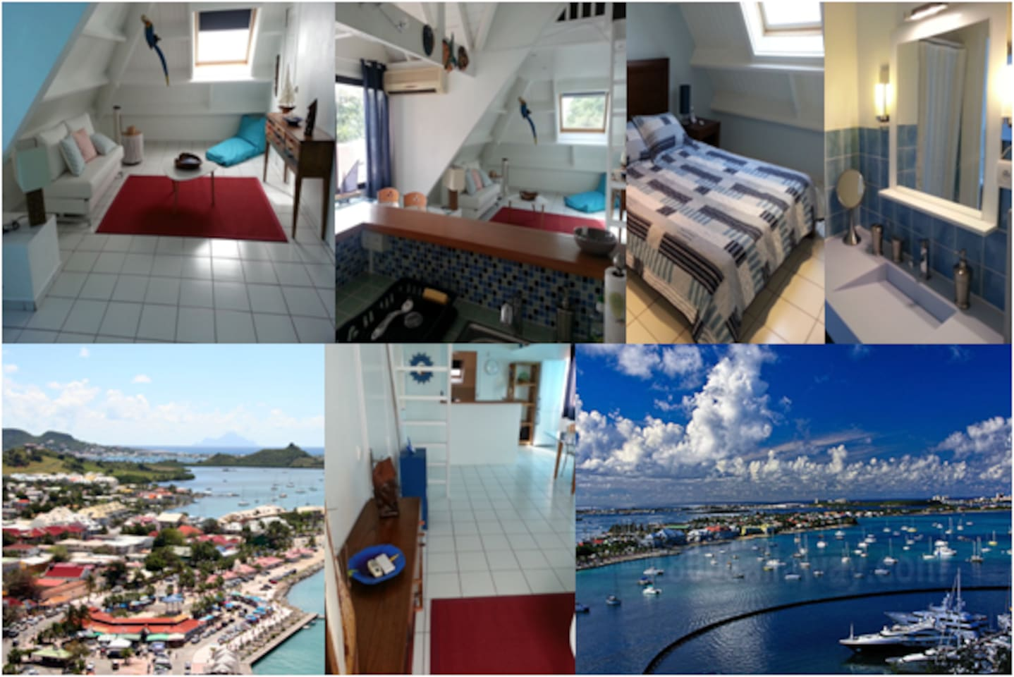 Spacious & comfy one bedroom apartment in Saint Martin
