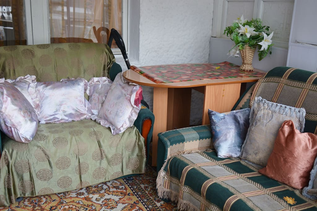 Лоджия / Balcony (small room)