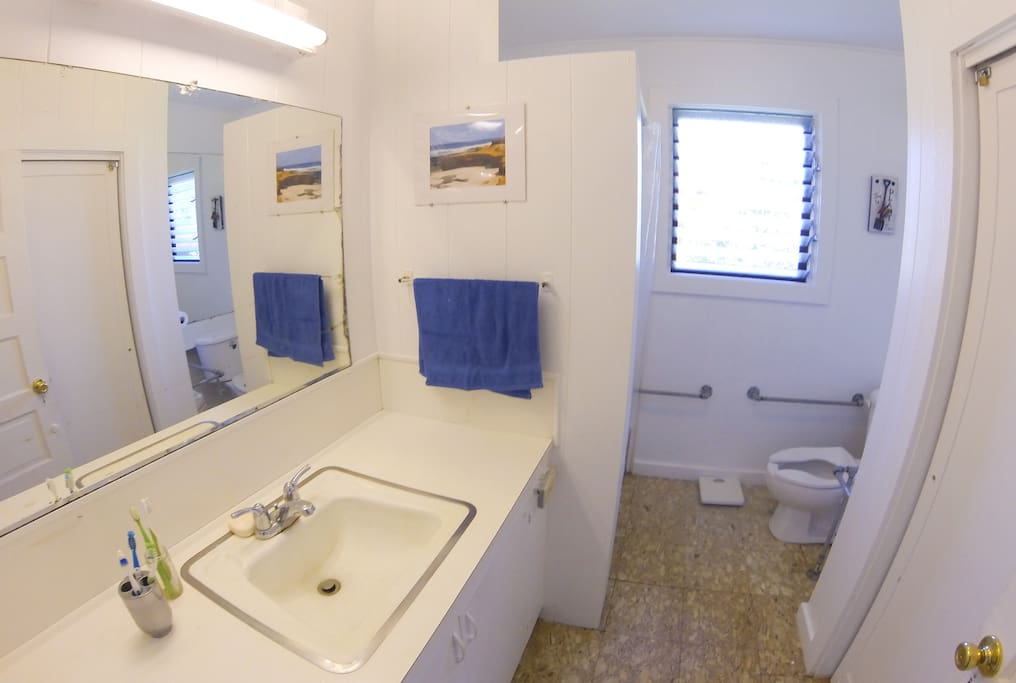 Main Full Bathroom Upstairs (2nd Bathroom downstairs not pictured)