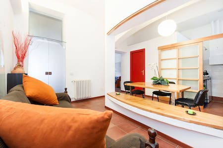 Modern apartment in ancient Rome