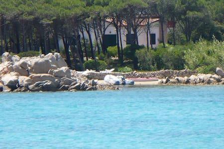 Villa con pineta e spiaggia - La Maddalena - Hus