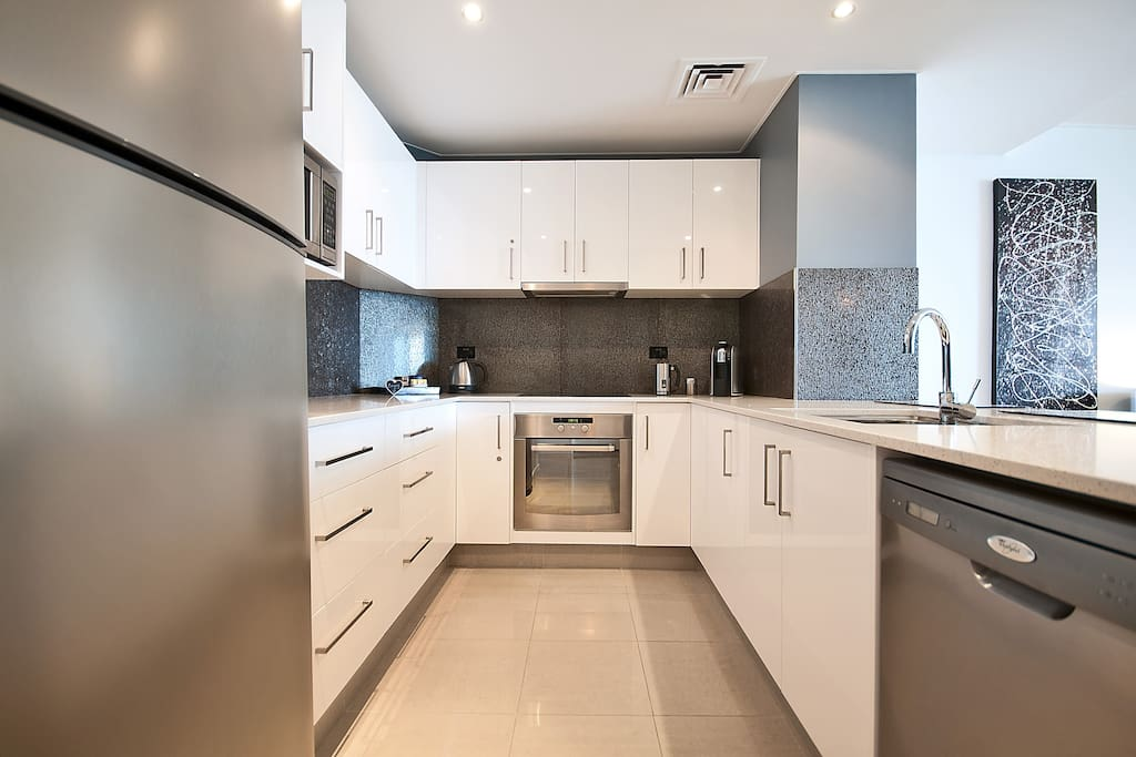 Full Size kitchen with all modern cons