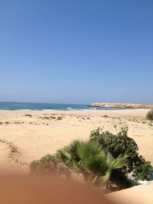 Surf guest house at Taghazout