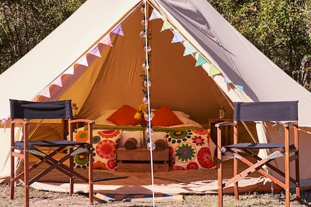 Luxury Glamping Bell Tent in Royal National Park - Tent