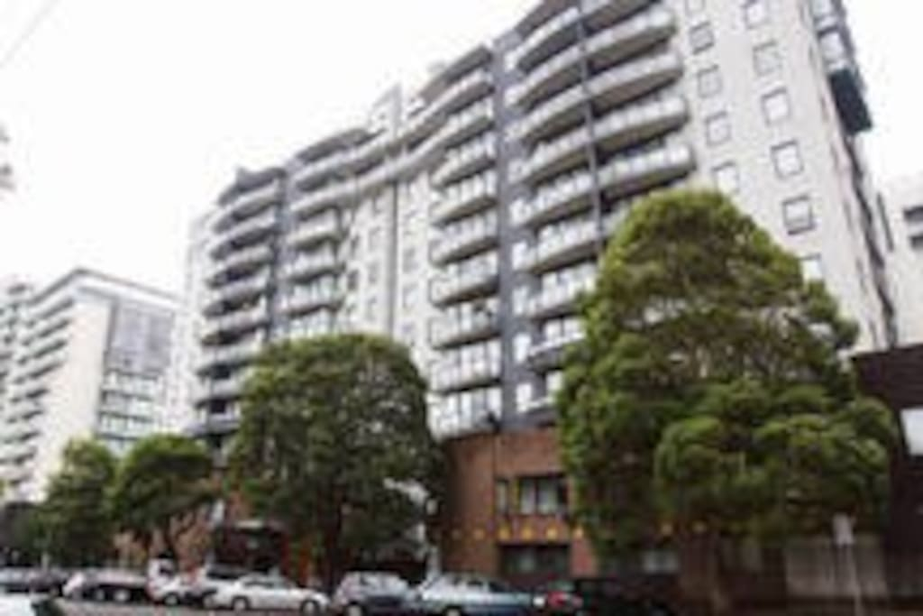 A collection of six condos.  Ours is called Parkside.  We are on the top floor.  Quiet, safe, and clean.