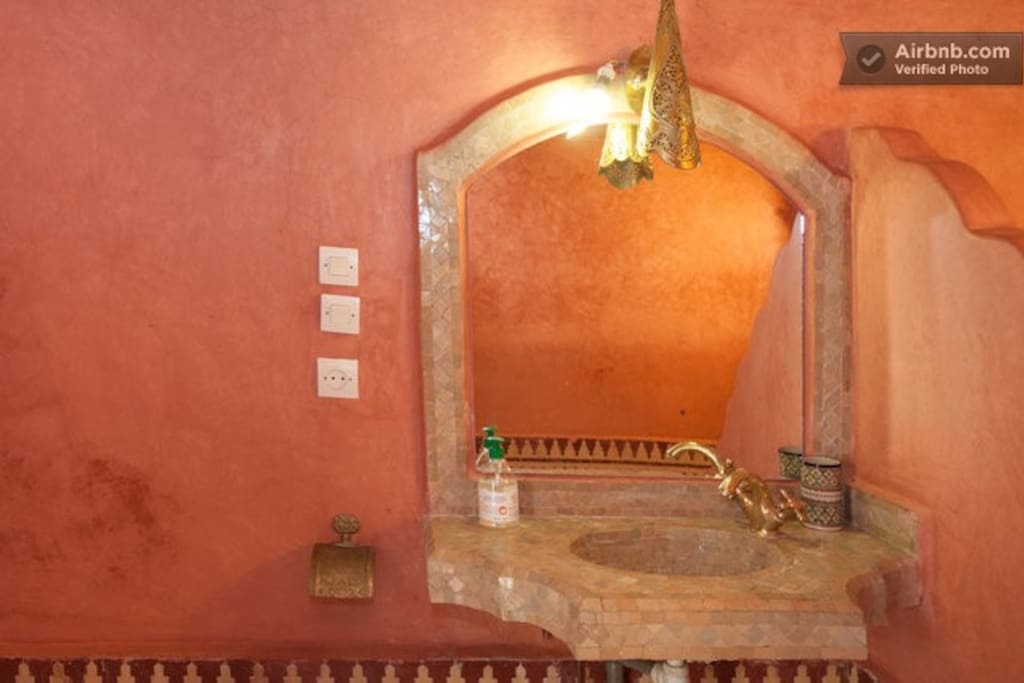 Chic room for rent in a riad!