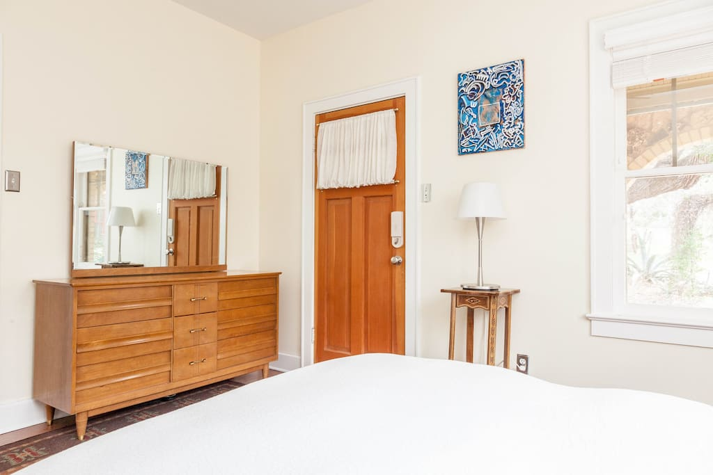 Bedroom also includes private entrance and drawers in which you can store clothes