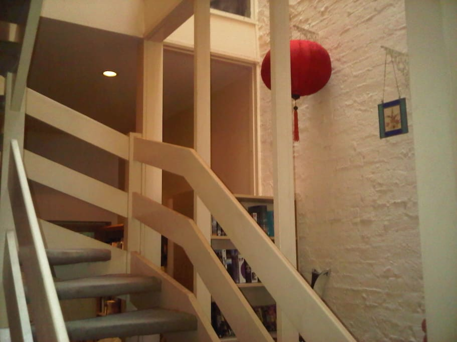 Interior ligtwell and staircase