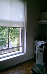Double bed in a bright room - Rathmines - Apartment
