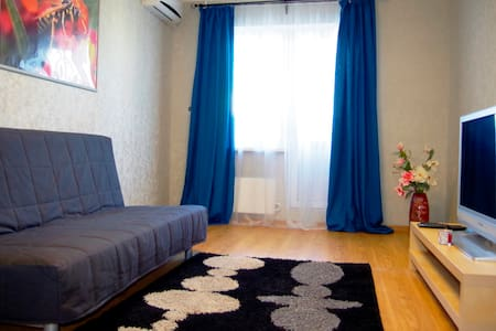 Clean and comfortable flat 999 m off the beach - Новороссийск - Apartment