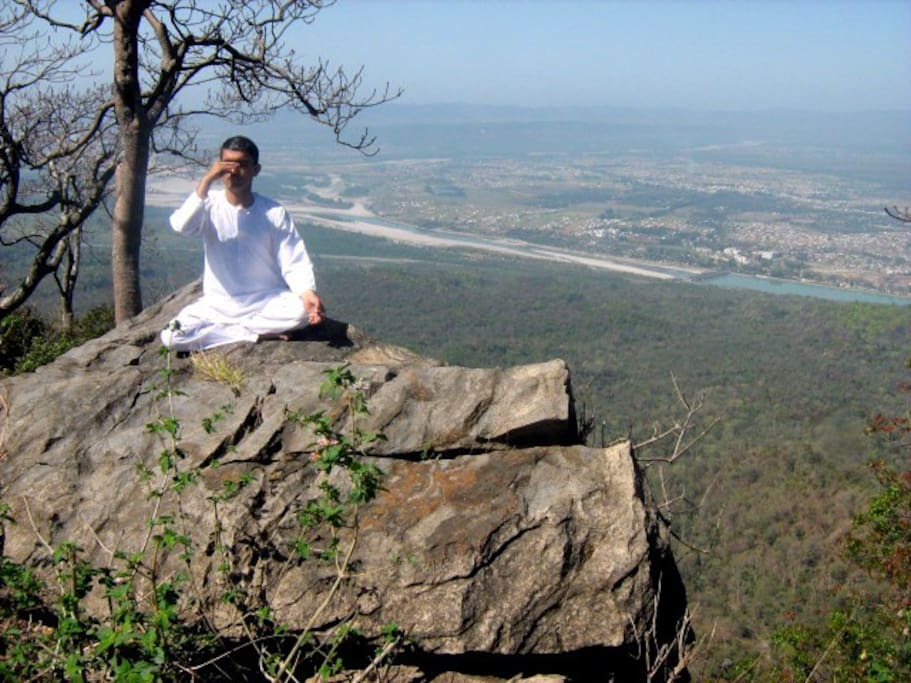 yoga in real nature