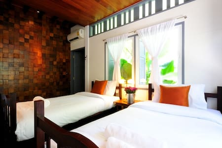 Baan Noppawong - Deluxe Twin Room - Bangkok