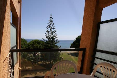 Sur la plage avec vue sur la mer  - San-Nicolao - Apartmen