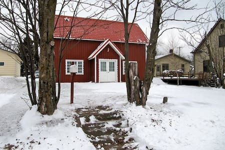 Swedish Cottage, private guestroom