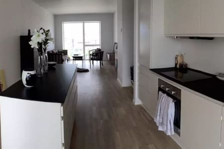 Room in a brand new South Harbour apartment - København - Apartment