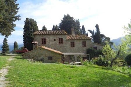 LOVELY VIEW BnB WITH POOL, BLU ROOM - Lucca
