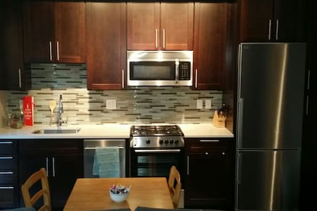Modern and sleek 1 bedroom - 4 min walk to metro - Silver Spring - Pis