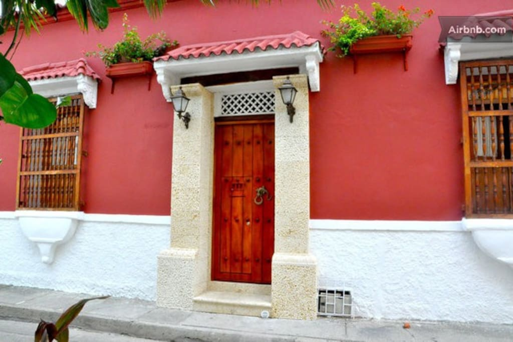 Casa Marta in Cartagena's old town