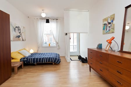 Cozy Loft in Little Italy 2 !!! - Montreal - Apartment