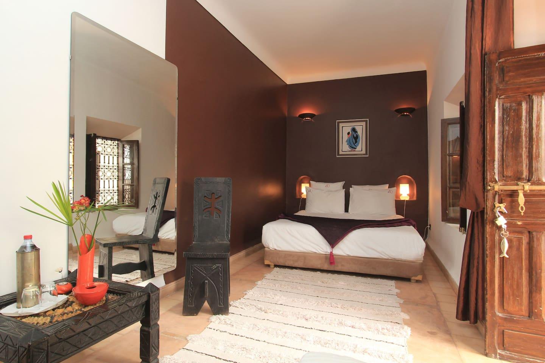 Narjis Room at charming Riad Asna