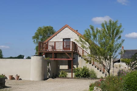 Loire Valley 3* gite, heated pool - Daire