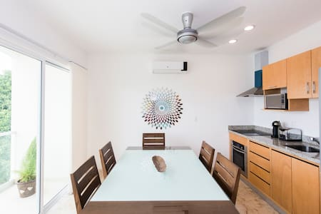 Well located Bamboo Luxury Condo - Playa del Carmen