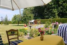 Ferienwohnung im idyllischen Dörfchen Metschow