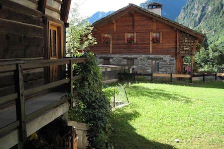 Apartment in Baita Walser XVII sec - Alagna Valsesia