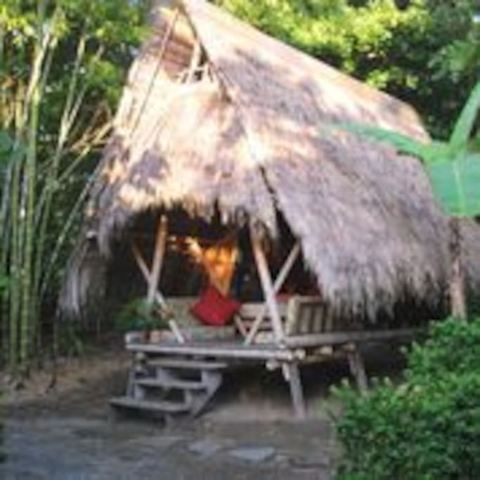 Thatched Roof Tent Cabinas